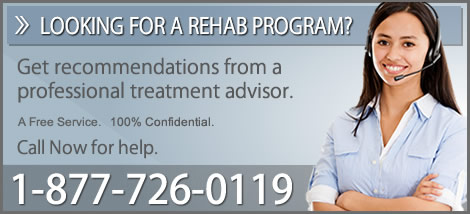 Looking for a drug rehab program?  Call for help.
